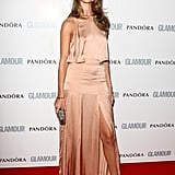 Rosie attended the Glamour Women of the Year Awards 2011 in a nude Stella McCartney gown.