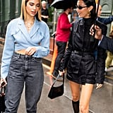 Dua Lipa and Bella Hadid in NYC