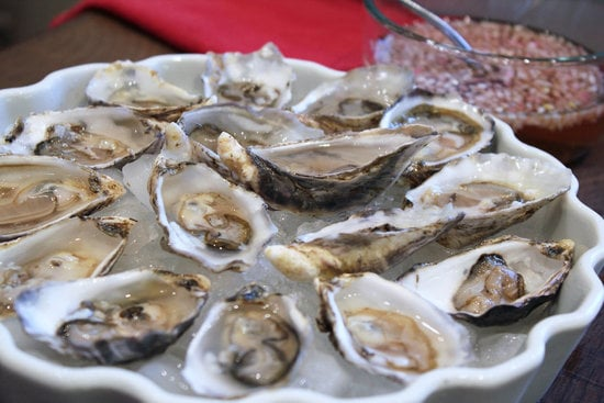 Slightly Restrained: Oysters on the Half Shell
