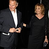 In May 2007, the two attended an event at The Hudson Theatre in NYC.