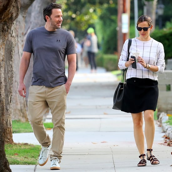 Ben Affleck and Jennifer Garner Walking in LA Sept. 2016