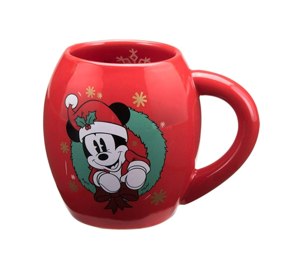 Vandor Disney Mickey Mouse Holiday Mug