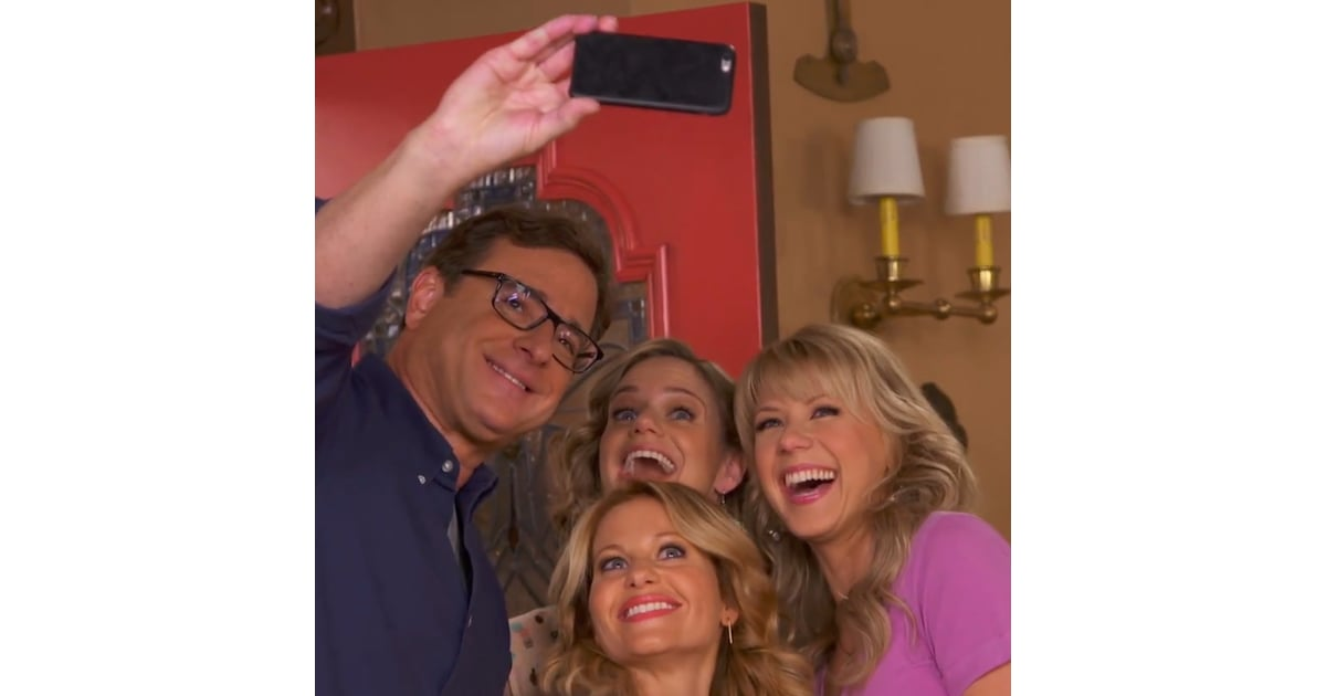 Go Behind the Scenes of Fuller House With the Cast | POPSUGAR Entertainment