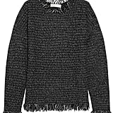 Michael Michael Kors Fringed Knitted Sweater ($165)