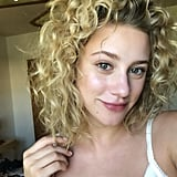 Lili Reinhart's Naturally Curly Hair