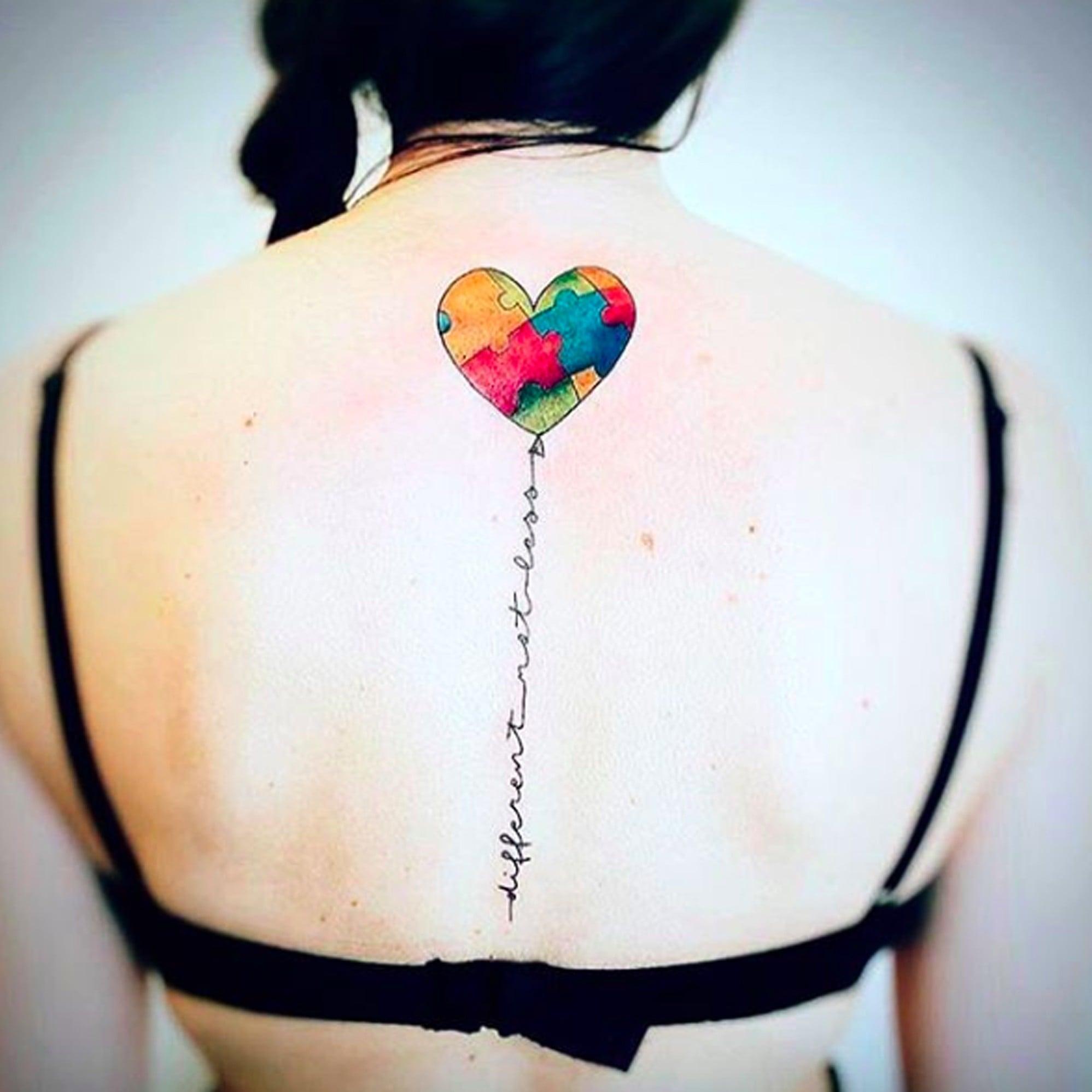Autism Tattoo Ideas | POPSUGAR Family