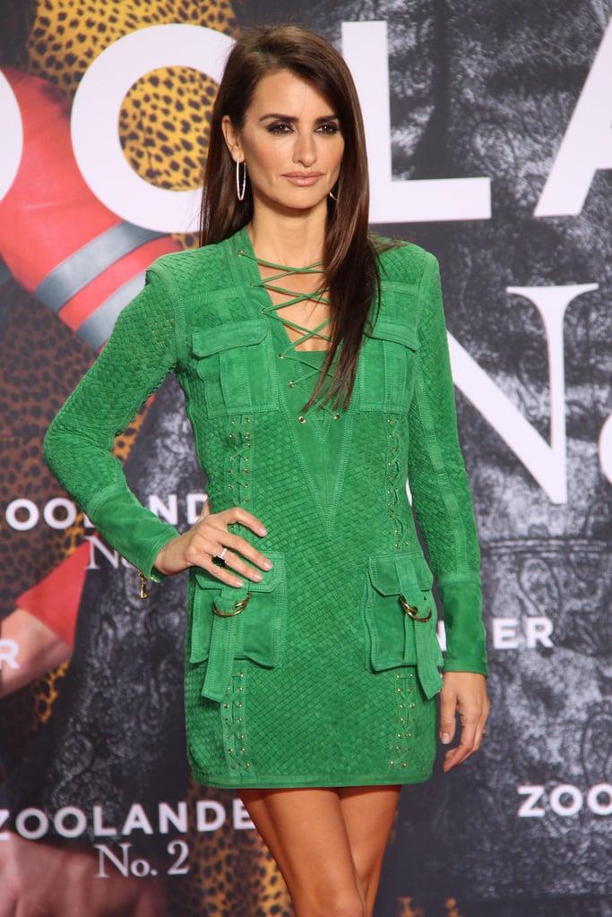 Penélope Cruz Proves the Sexiest Thing You Can Wear Is a Balmain Minidress