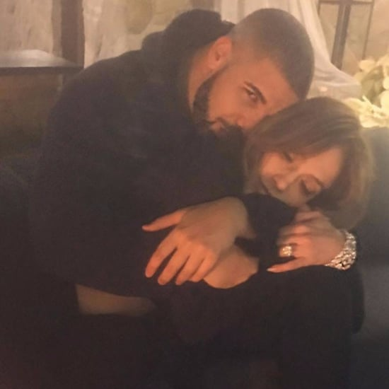 Drake and Jennifer Lopez Kissing at Party December 2016