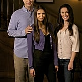 Erin Beute, Nina Dobrev, and Jason MacDonald in The Vampire Diaries.