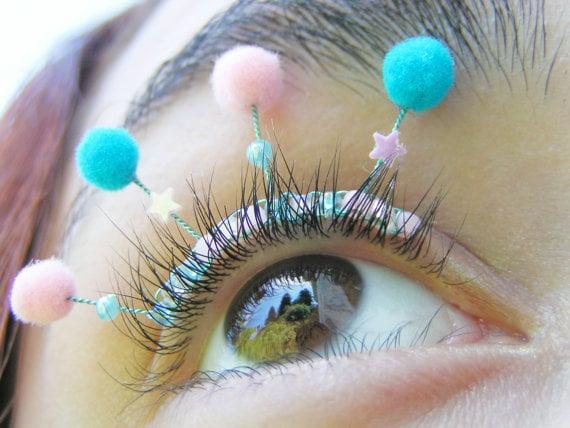 Eyelash Jewelry Etsy Popsugar Beauty