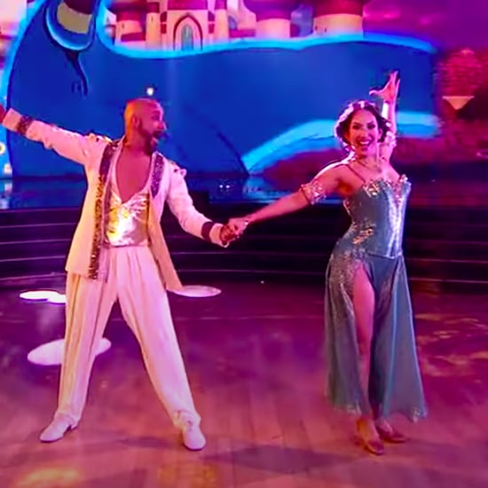 Watch AJ McLean's Aladdin Performance on DWTS Disney Night
