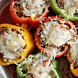 Cheesy Wild-Rice-Stuffed Peppers