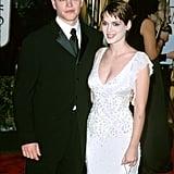 Matt Damon and Winona Ryder in 2000