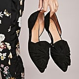 Anthropologie Liendo by Seychelles Knotted Bow Flats
