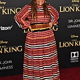 Pictured: Yvette Nicole Brown at The Lion King premiere in Hollywood.