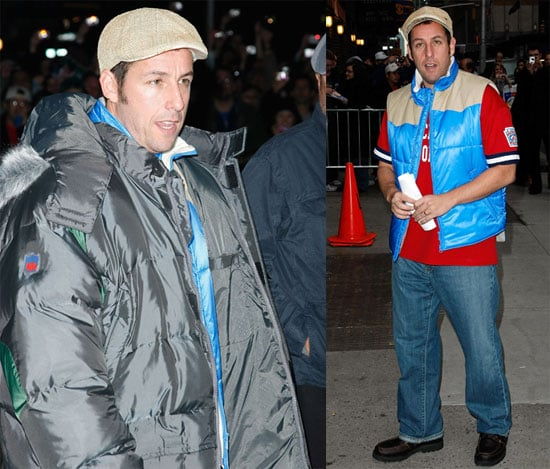Adam Sandler Visits The Late Show