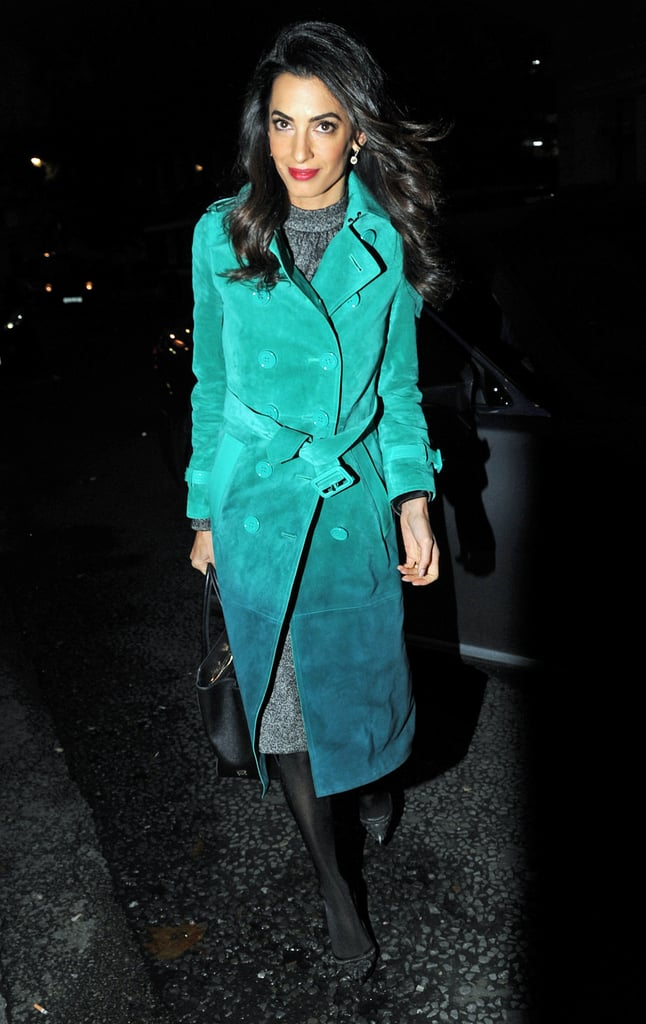 Amal Clooney Just Confirmed It: It's Tights Season