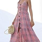 UO Positano Tie-Shoulder Midi Dress