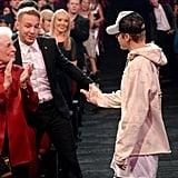 Justin Bieber Charming Ariana Grande's Grandmother