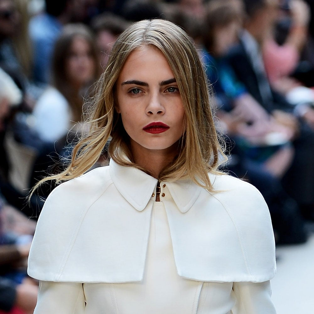 pictures of model cara delevingne popsugar beauty australia