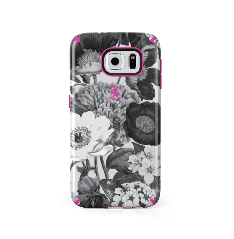 Speck CandyShell Inked Case in Vintage Bouquet Gray ($40)