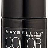 Maybelline New York Color Show Black to Black Nail Color in Black Matte