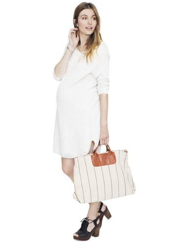 HATCH Collection's sweatshirt dress ($119, originally $238), made from French terry cloth, will keep you cozy as is — or you can layer it under a military jacket for an ultrachic look no matter what the weather.