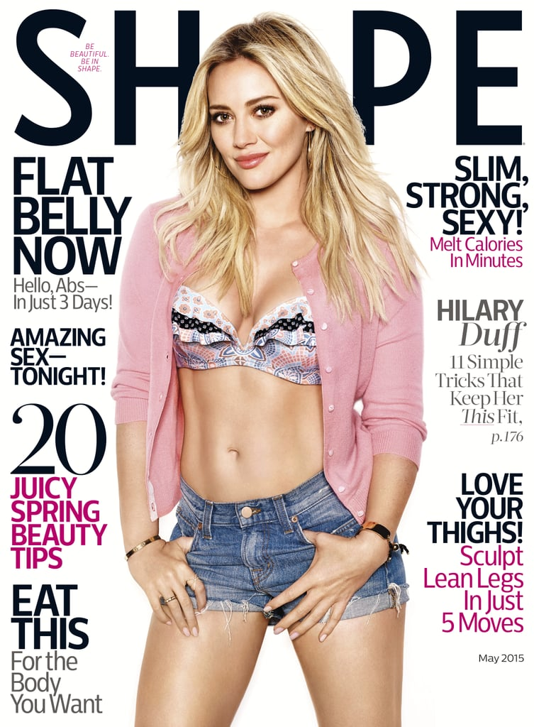 Hilary Duff's Shape Magazine Cover | May 2015 | POPSUGAR Fitness