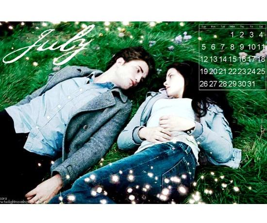 2009 Twilight Desktop Calendars