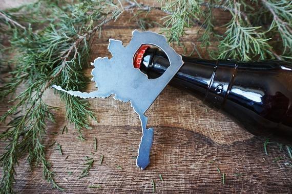 Alaska State Bottle Opener