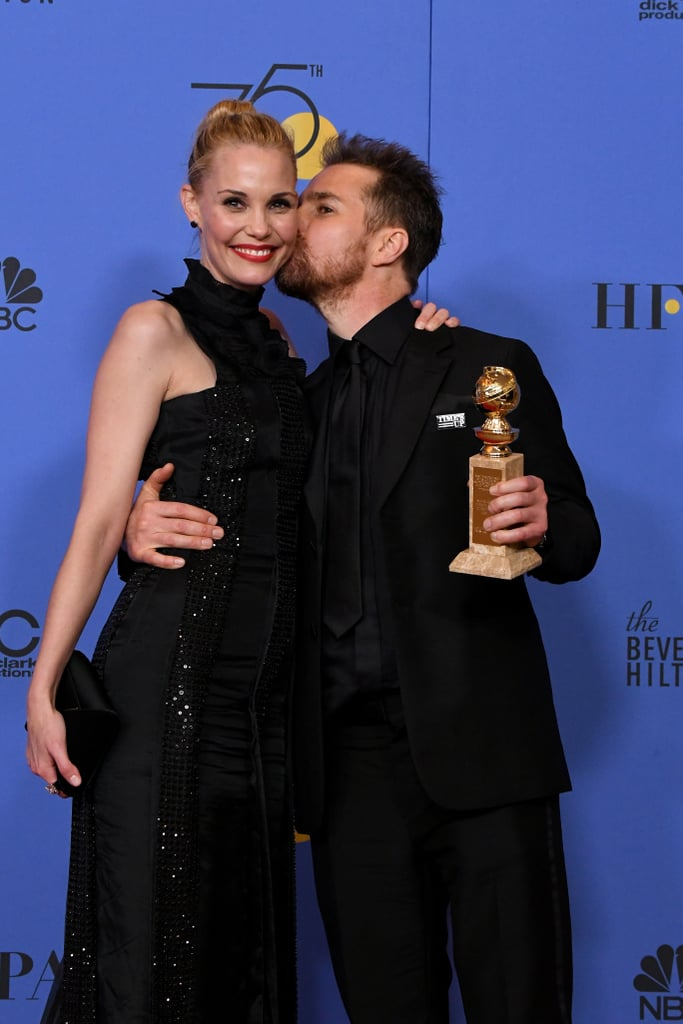 "Leslie Bibb and Sam Rockwell first began dating in 2007, and the two have been going strong ever since. Not only was Sam the first celebrity Leslie ever dated, but they have shared tons of ""aw""-inducing moments throughout their time together. Whether they're on the red carpet, on vacation, or simply hanging out at home, it's pretty clear that Leslie and Sam have a love that most people dream of. Still not convinced? Just take a look at their sweetest moments together.      Related:                                                                                                           Sam Rockwell Delivers a Touching Acceptance Speech Covered in Leslie Bibb's Lipstick"