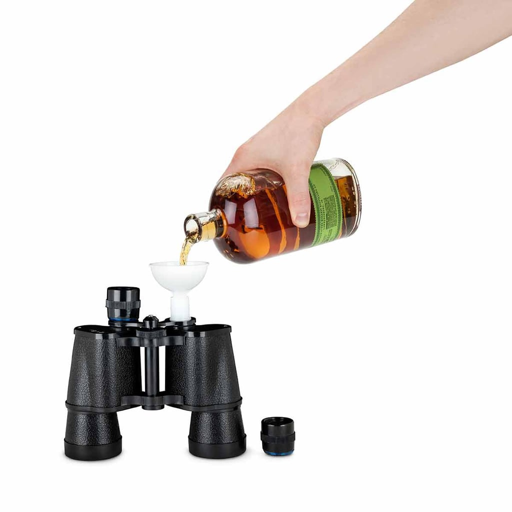 We Spy a Perfect Day Drinking Opportunity With This Binoculars Flask