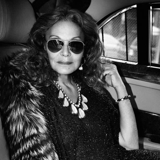 Diane von Furstenberg Strikes A Pose In Interview Magazine And Talks Being A Femme Fatale