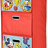 Disney Mickey Mouse Collapsible 3-Drawer Storage Closet