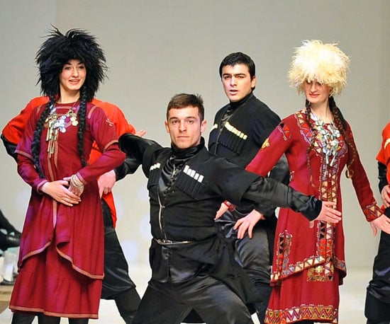Hold Me Closer, Traditional Russian Dancer