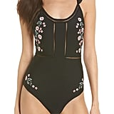 Embroidered One-Piece
