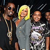 Pictured: Diddy, Cassie, Christian Combs, and Justin Combs