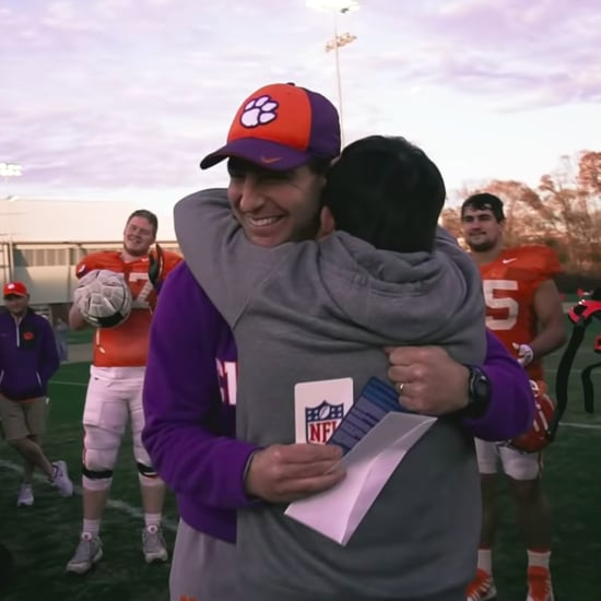 Clemson Football Super Bowl Tickets Surprise Video