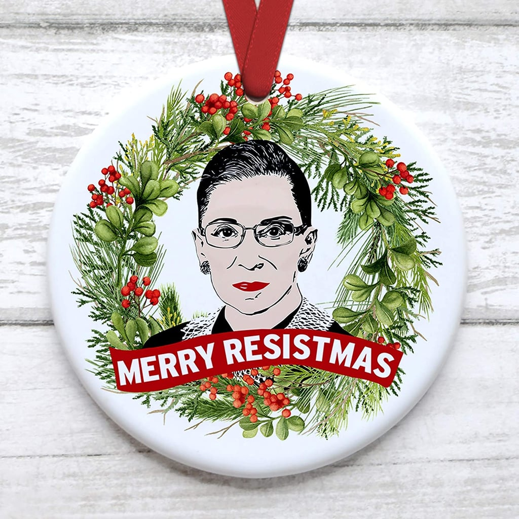 RBG Christmas Ornaments