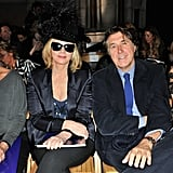 Kim Cattrall, Bryan Ferry, and Kelly Brook attended Philip Treacy.