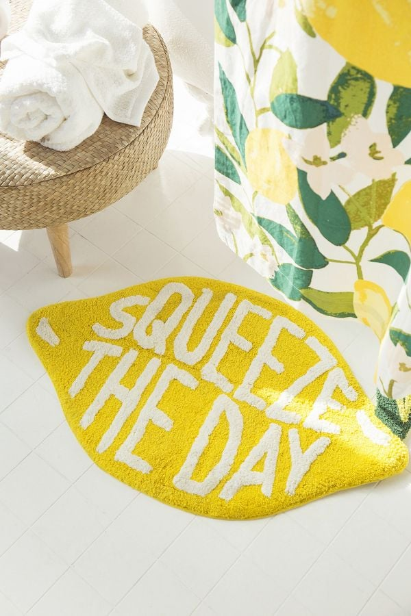Squeeze the Day Bath Mat