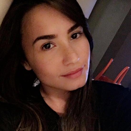 Demi Lovato's Long Hair August 2016