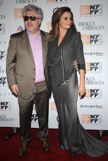 Penelope Cruz attends the premiere of ''Broken Embraces'' in N.Y.C
