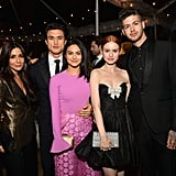 December 2018: Madelaine and Travis Hang With the Riverdale Cast