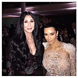 Kim Met Cher For the First Time at the Met Gala