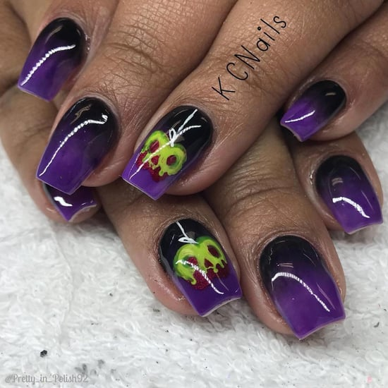 Disney Villain Nail Art Ideas