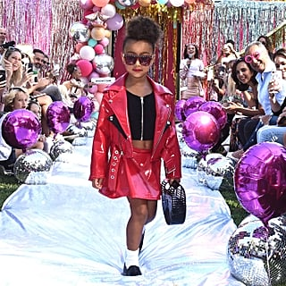 North West and Kim Kardashian at LOL Fashion Show 2018