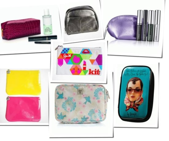 Cosmetics and makeup bags