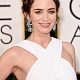 Emily Blunt at the Golden Globes 2015