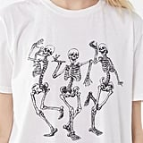 Live Your Best Life Skeleton Tee